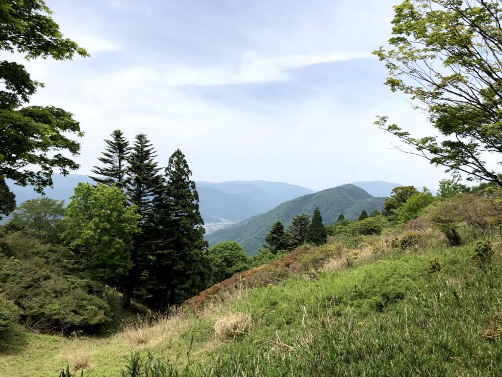 比叡山山頂付近の眺望