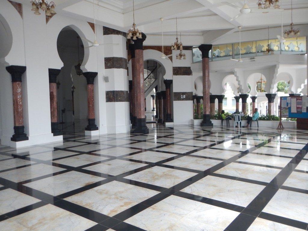 モスクのエントランス