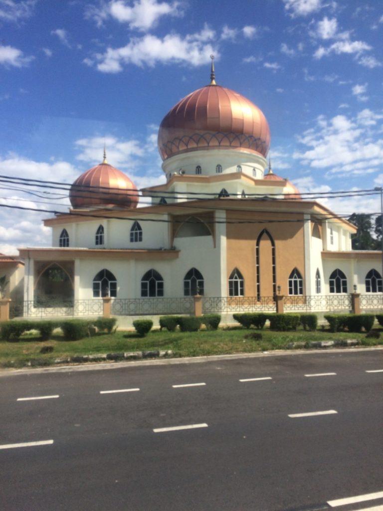 銅色のモスク