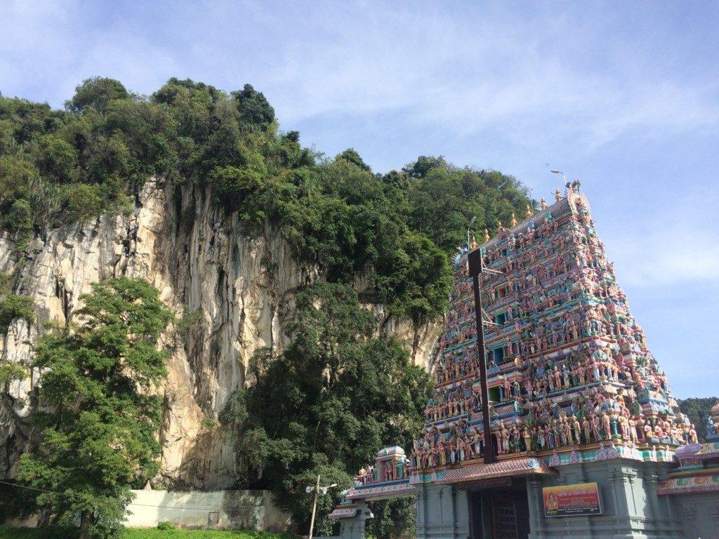荘厳な寺院