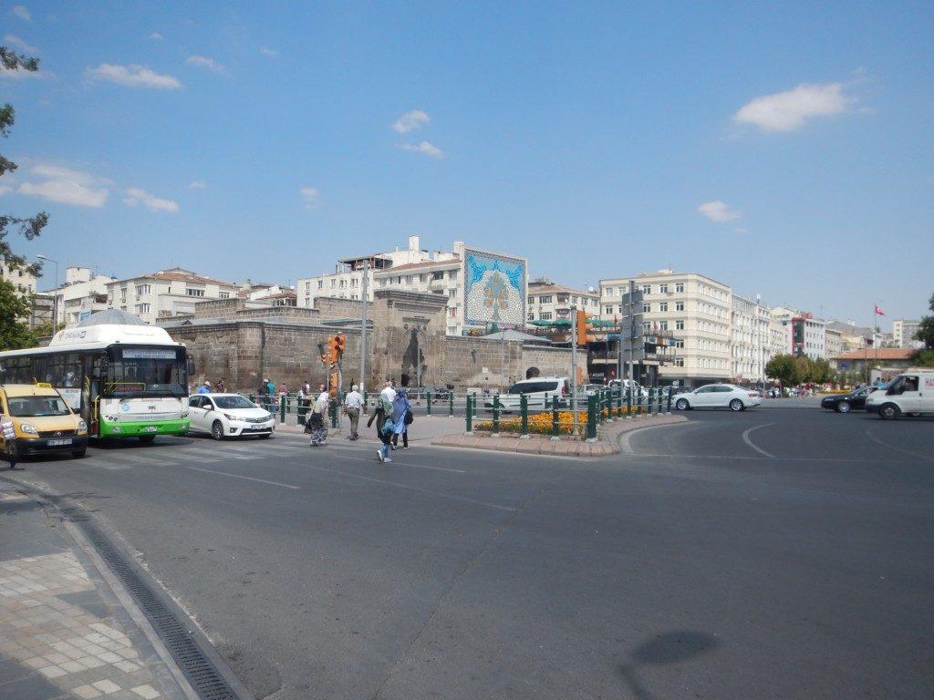 カイセリの街並み