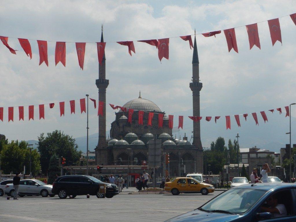 モスク周辺