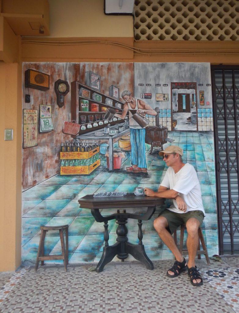 壁画(カフェ)