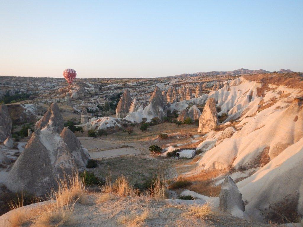 トルコ国旗の気球