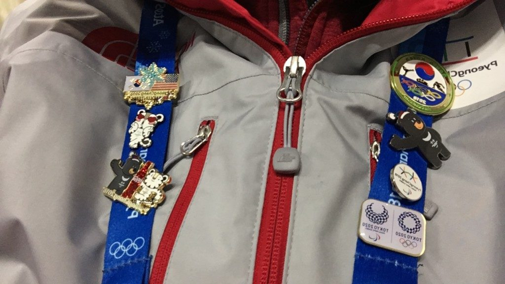 平昌オリンピックのボランティア_バッジ