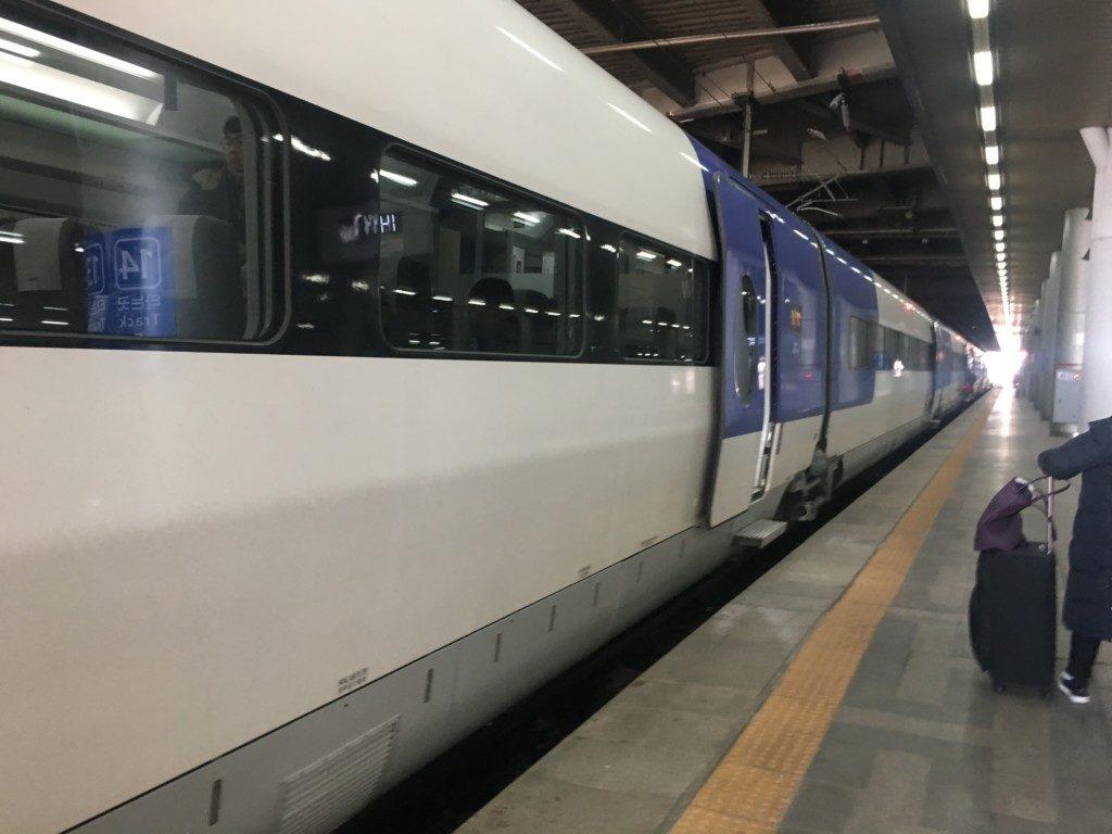 ソウルの列車