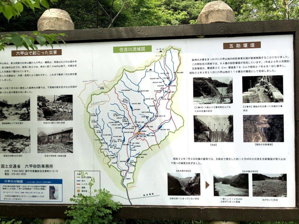 住吉川流域図