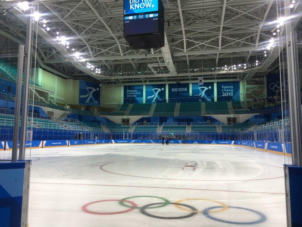 平昌オリンピックのボランティア_アイスホッケー