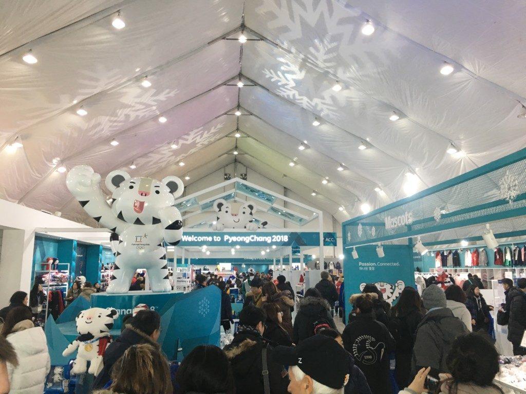平昌オリンピックのボランティア_江陵オリンピックパーク