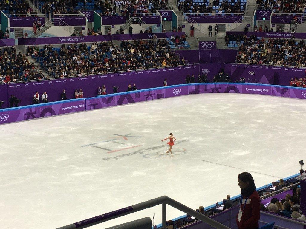 平昌オリンピックのボランティア_ザギトワ