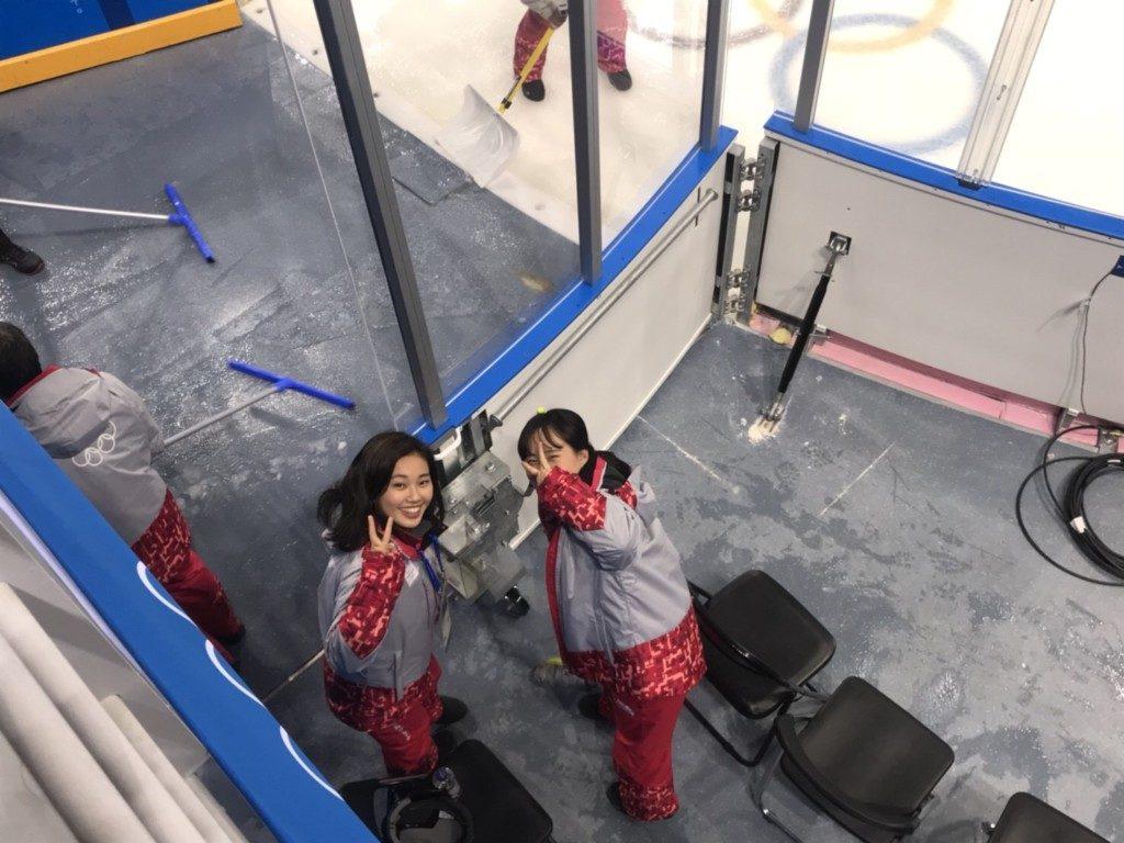 平昌オリンピックのボランティア