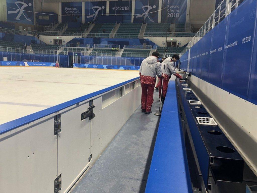 平昌オリンピックのボランティア仕事