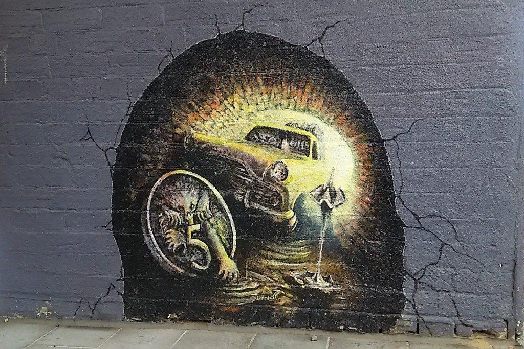 ジーロンのストリートアート