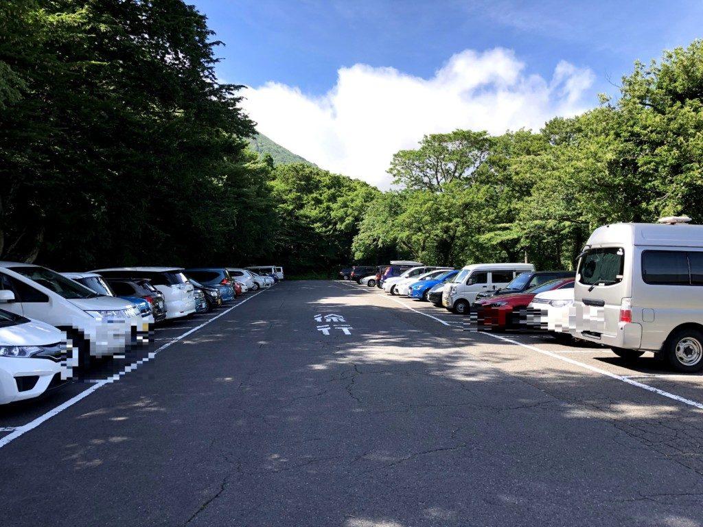 下山駐車場