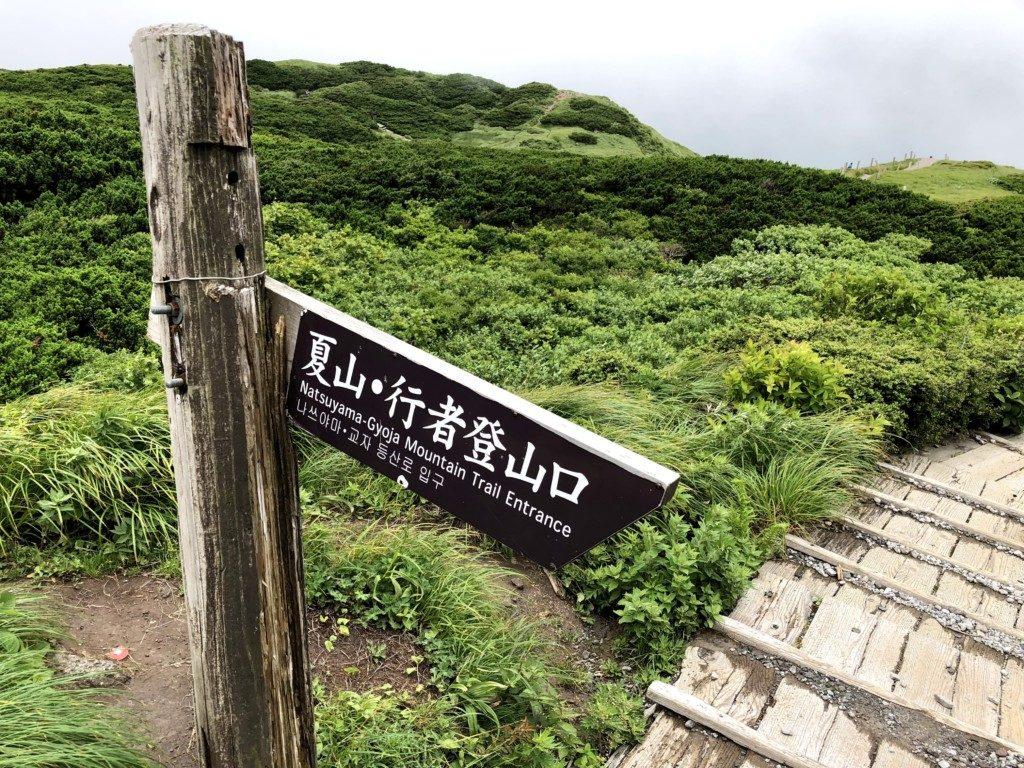 夏山・行者登山口