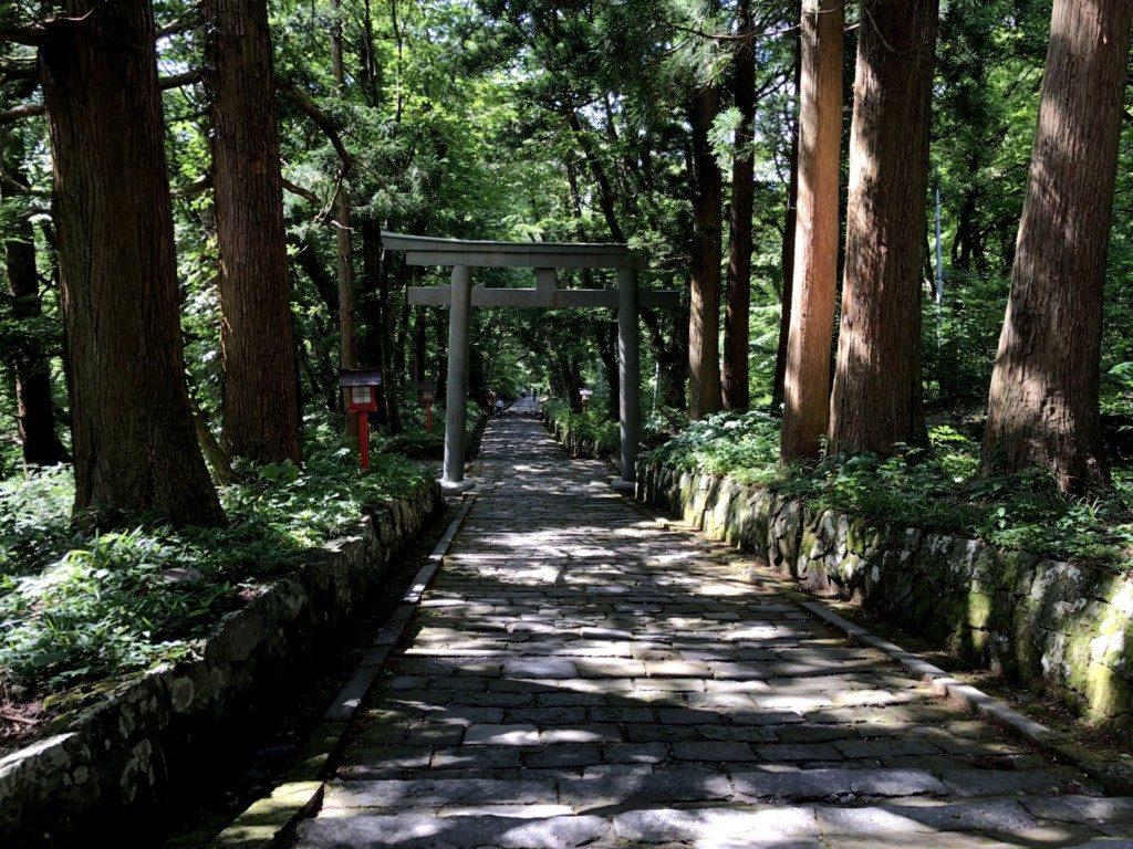 大神山神社参詣道その2