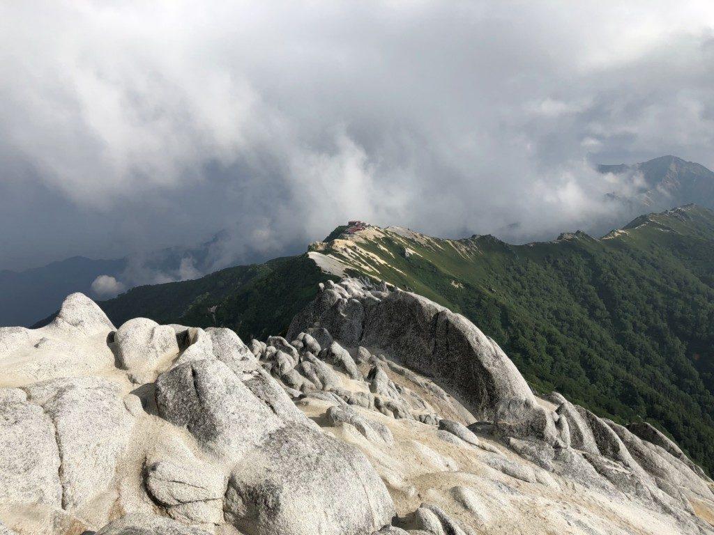 燕岳からの眺望