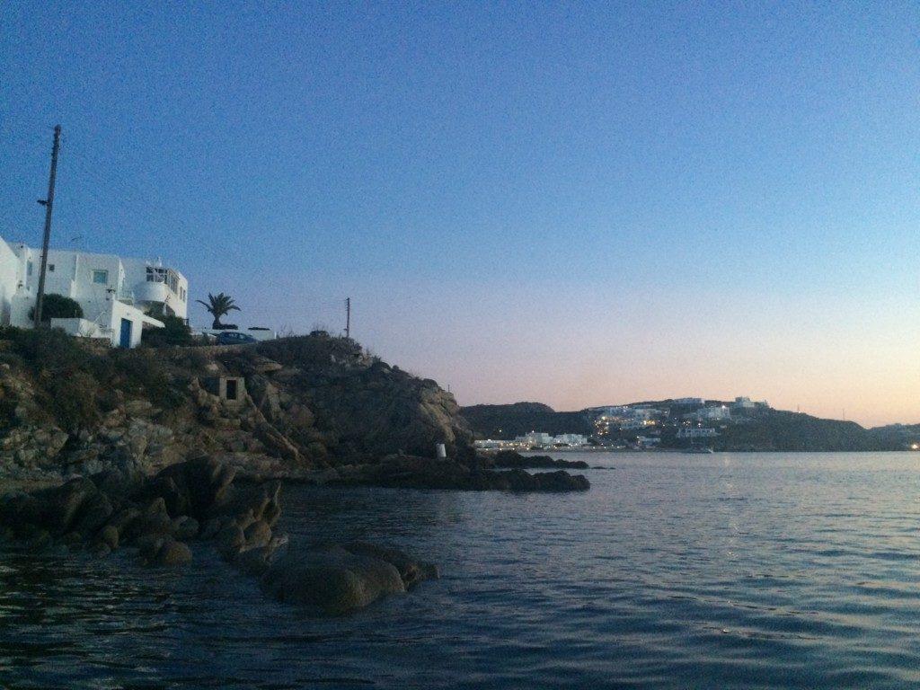 ギリシャの夕焼け