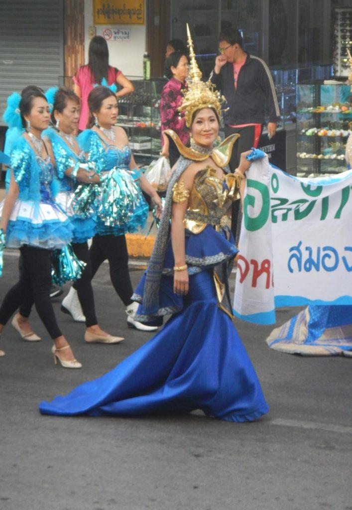 タイのマーチング・バンド