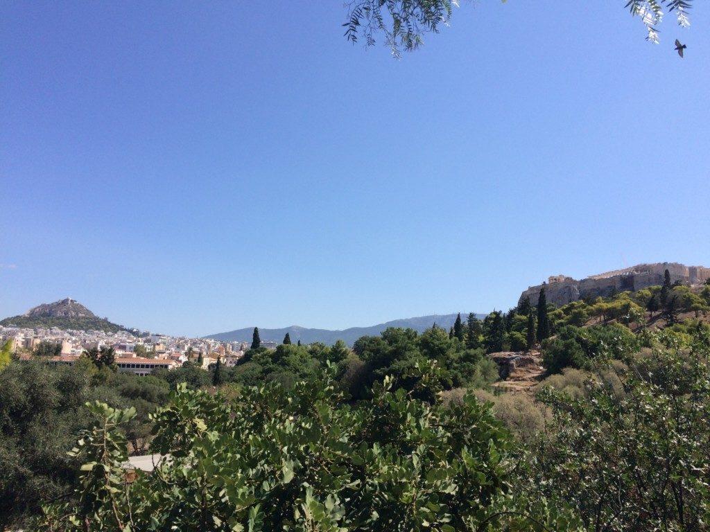 アテネの景色