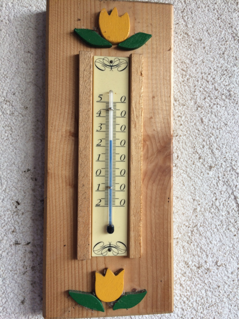 夕方の気温