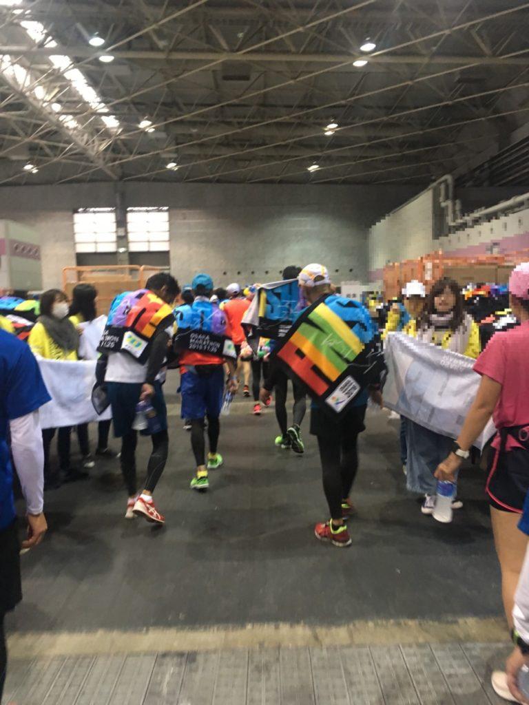 大阪マラソンフィニッシャータオル