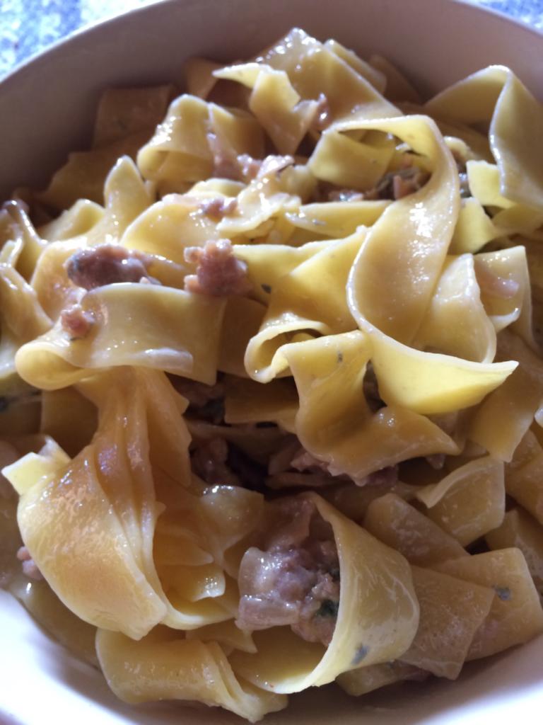 イタリアの昼食