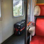 列車内風景
