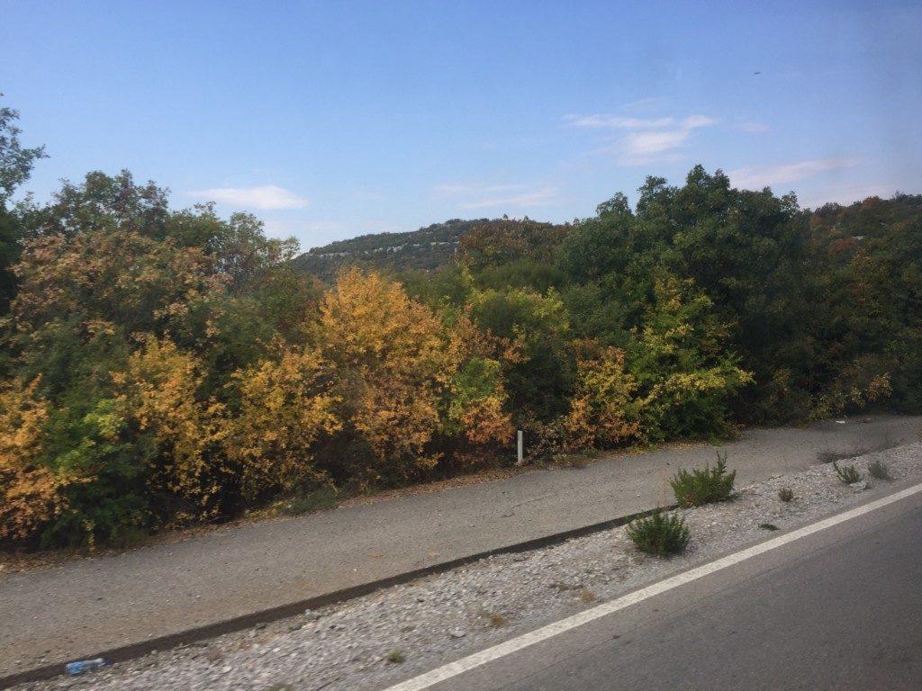 モンテネグロの紅葉