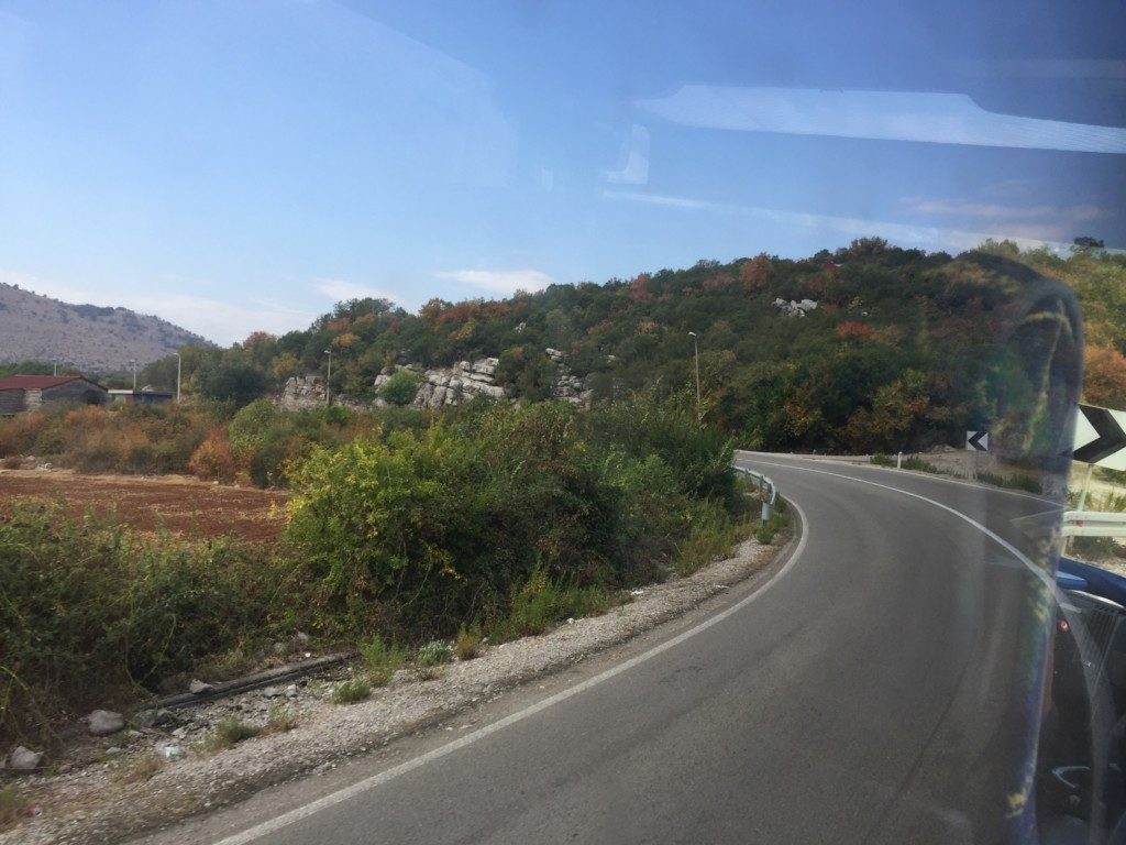 モンテネグロの道路