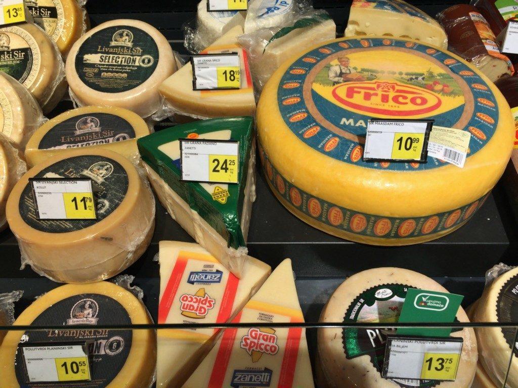 安いチーズ