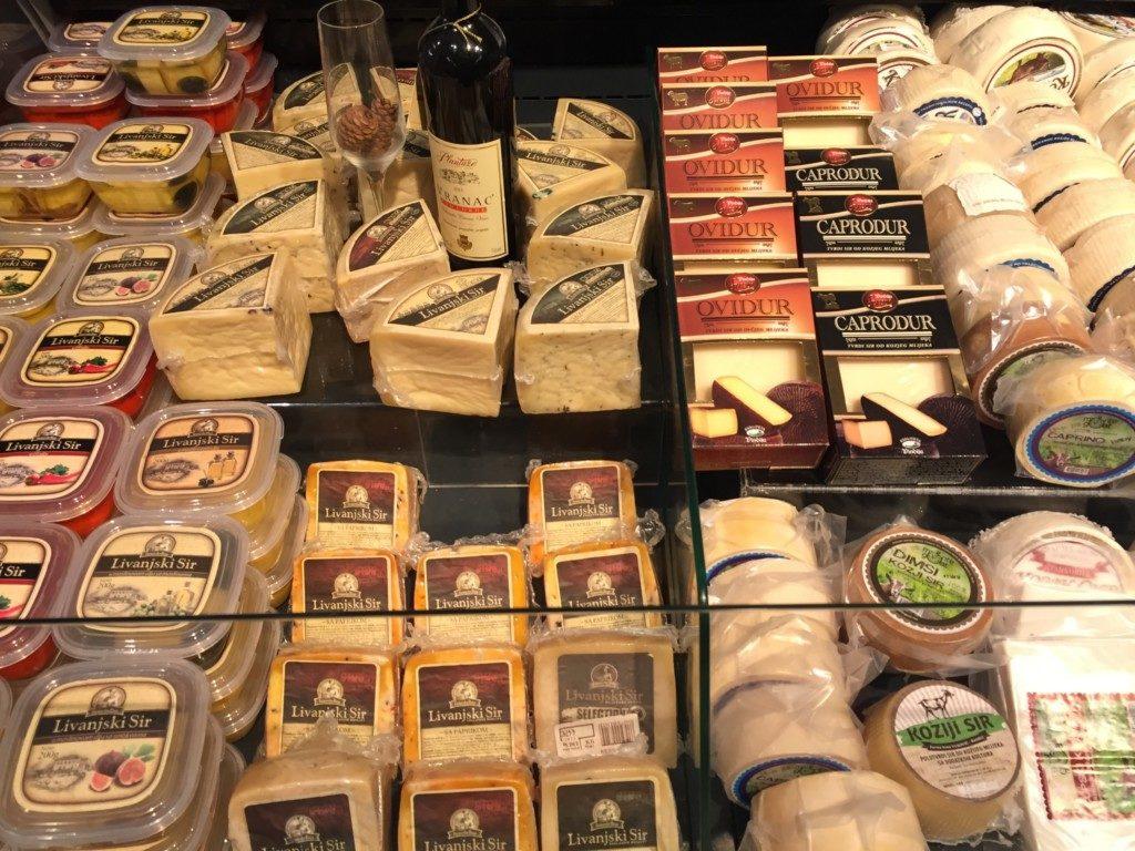 モンテネグロのチーズ