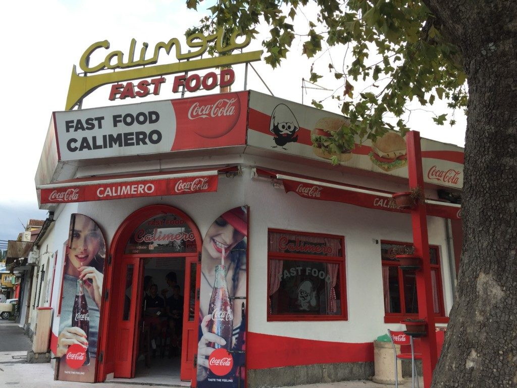 ファストフード店カリメロ