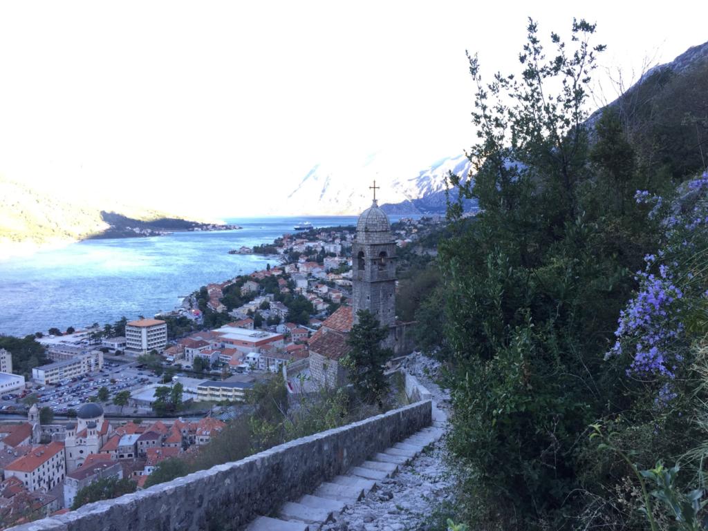 城壁から見る街並み