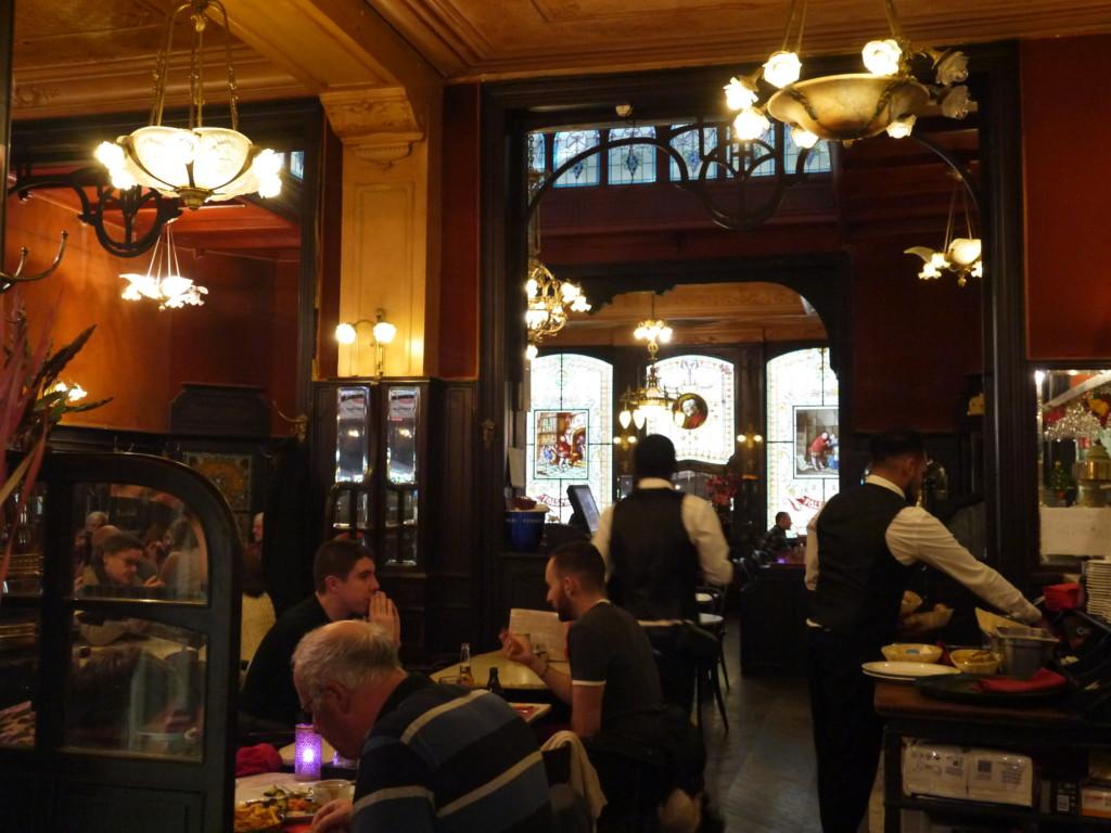ベルギーのレストラン