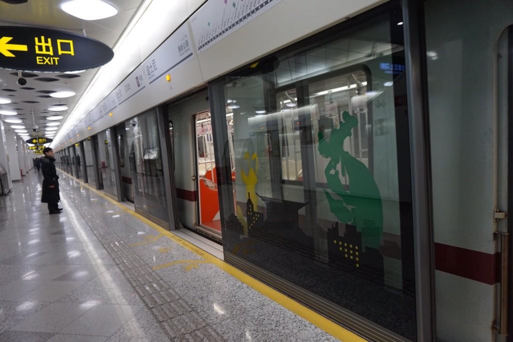 上海の地下鉄11号線終点