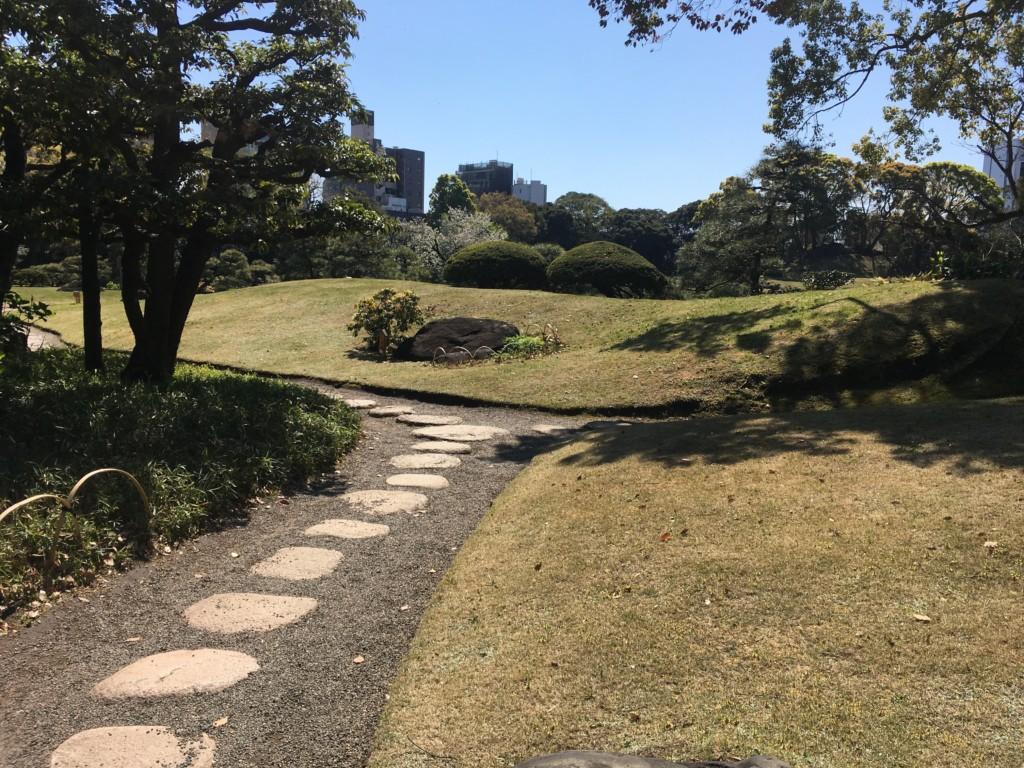清澄庭園道