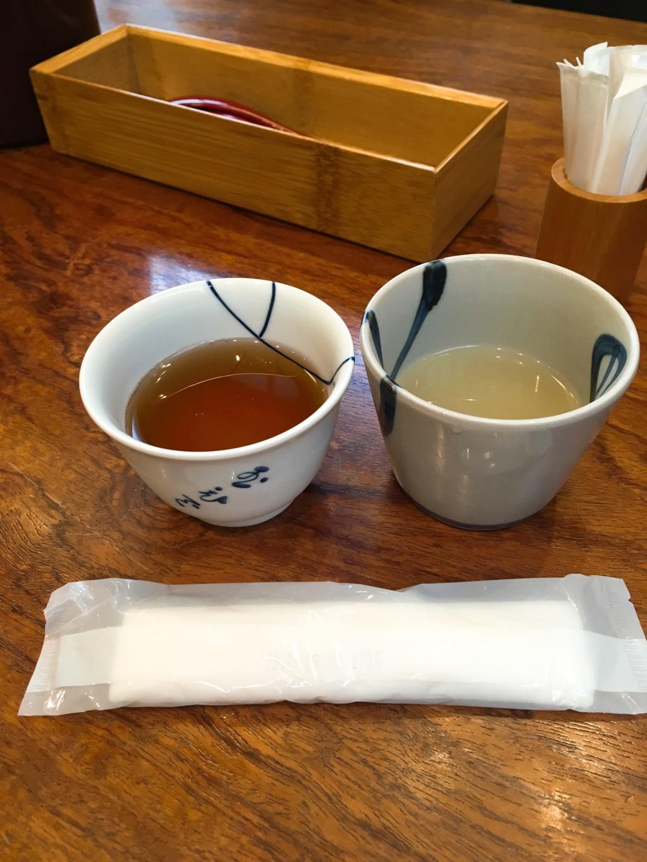 お茶と鶏のスープ