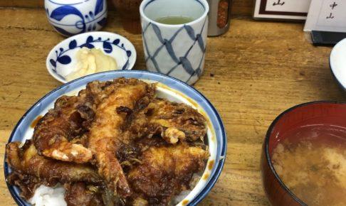 天ぷら中山天丼