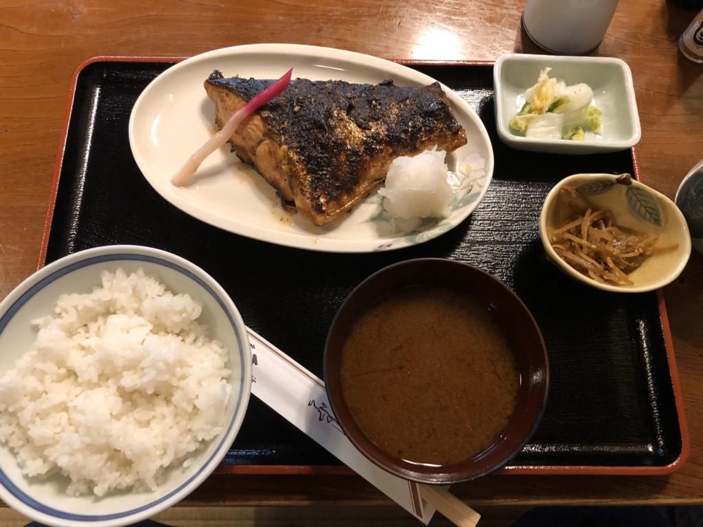 生鮭照焼定食