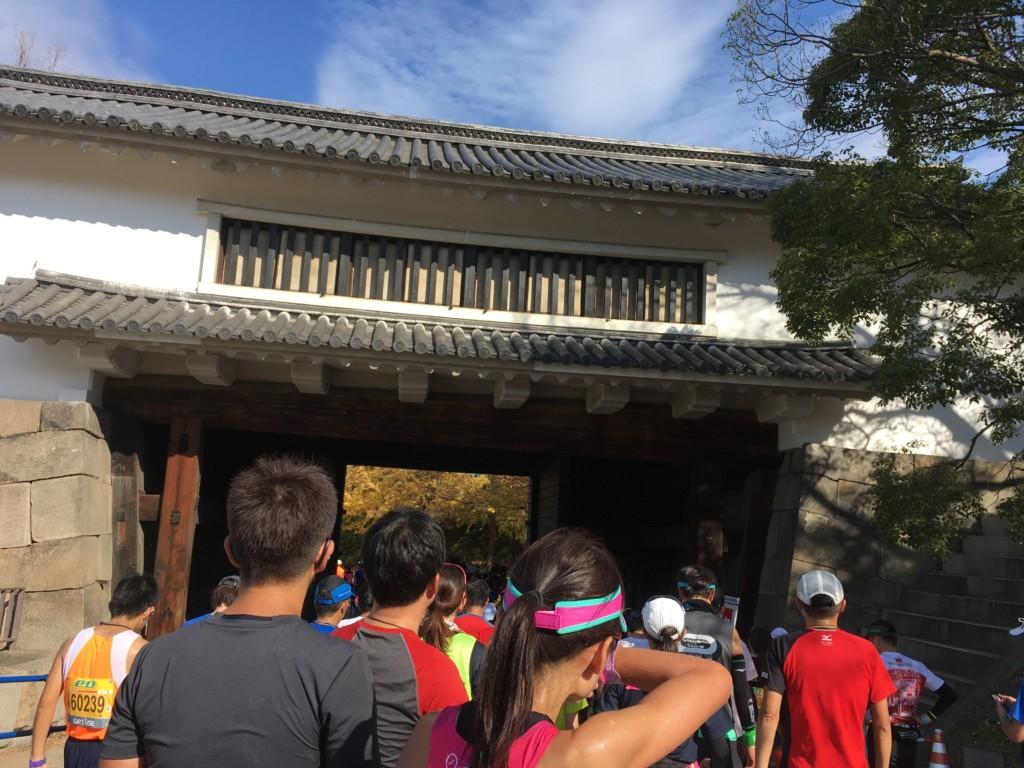 大阪マラソンゴール後